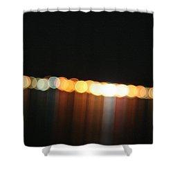Dripping Light Shower Curtain by David S Reynolds