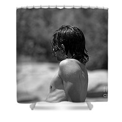 Dripping With Desire Shower Curtain
