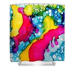 Drippy Shower Curtain