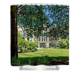 Driscoll Hall Shower Curtain
