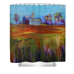 Drive-by View Shower Curtain