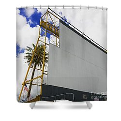 Drive-in Fort Lauderdale, Florida Shower Curtain