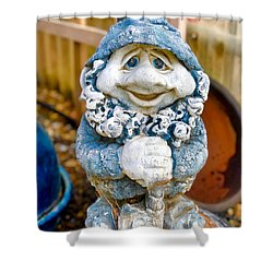 Droopy Eyed Garden Dwarf Shower Curtain