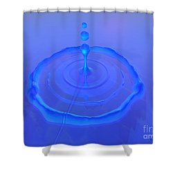 Drop Shower Curtain by Corey Ford