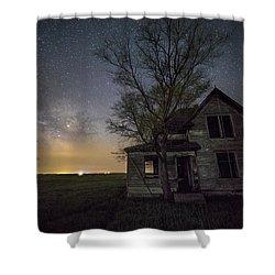 Drops Of Jupiter  Shower Curtain by Aaron J Groen