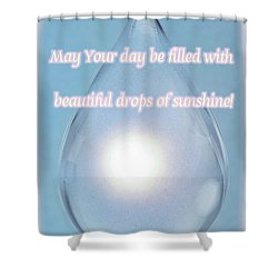 Drops Of Sunshine Shower Curtain