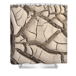 Shower Curtain featuring the photograph Drought 3 by Erika Chamberlin