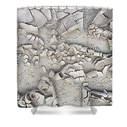 Drought 6 Shower Curtain