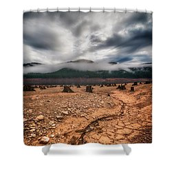 Shower Curtain featuring the photograph Drought by Ryan Manuel