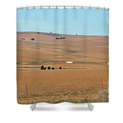 Drought-stricken South African Farmlands - 1 Of 3  Shower Curtain
