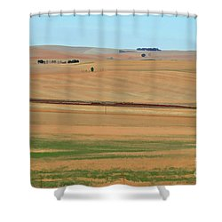 Drought-stricken South African Farmlands - 2 Of 3  Shower Curtain