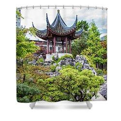 Dr. Sun Yat Sen Classical Chinese Garden, Vancouver Shower Curtain