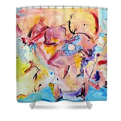 Drum Dancer Shower Curtain