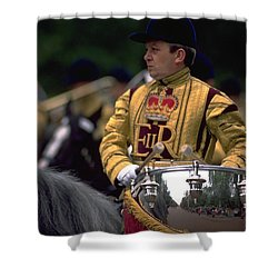 Drum Horse At Trooping The Colour Shower Curtain
