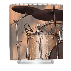 Drum Set Shower Curtain