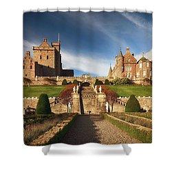Drummond Castle 2 Shower Curtain