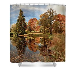 Drummond Castle Garden Shower Curtain