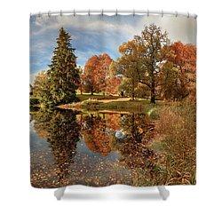 Drummond Castle Garden Shower Curtain