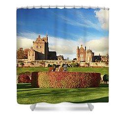 Drummond Castle  Shower Curtain