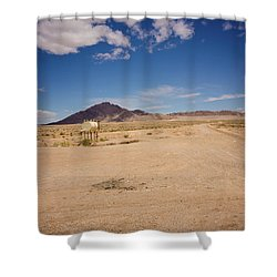 Dry And Oily Shower Curtain