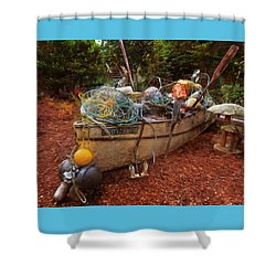 Shower Curtain featuring the photograph Dry Dock Art by Thom Zehrfeld
