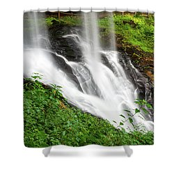 Dry Falls Shower Curtain by Allen Carroll
