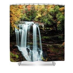 Dry Falls Autumn Splendor Shower Curtain