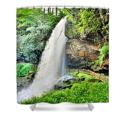 Dry Falls Highlands North Carolina 2 Shower Curtain