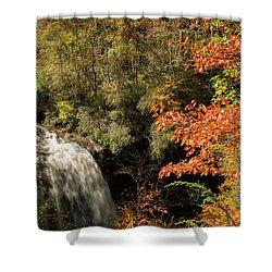 Dry Falls In North Carolina Shower Curtain