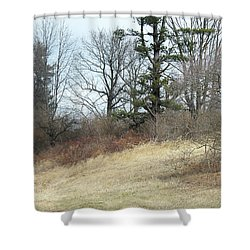 Dry Field Shower Curtain