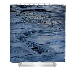 Dry Fork Freeze Shower Curtain