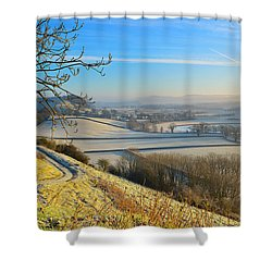 Dryslwyn 1 Shower Curtain