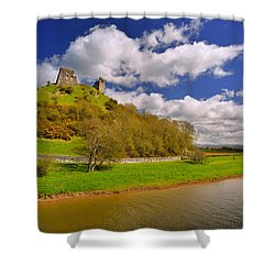 Dryslwyn Casle 1 Shower Curtain