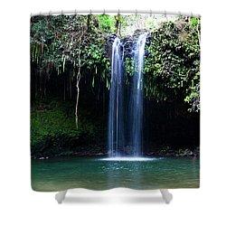 Dual Falls Shower Curtain