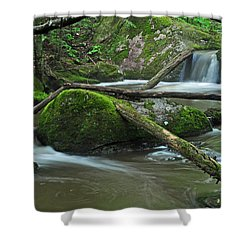 Dual Falls Shower Curtain