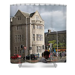 Dublin Near Pearse Street Shower Curtain