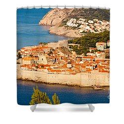 Dubrovnik Old City Shower Curtain