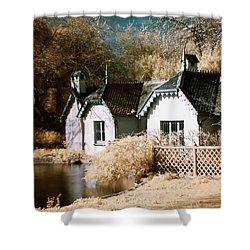 Duck Island Cottage Shower Curtain