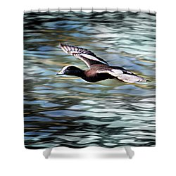 Duck Leader Shower Curtain