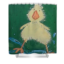 Duckling 1 Shower Curtain