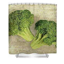 Due Broccoletti Shower Curtain
