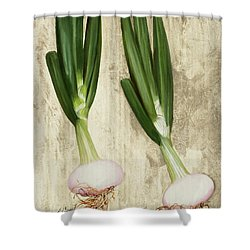 Due Cipollotti Shower Curtain