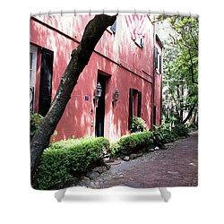 Dueler's Alley Shower Curtain