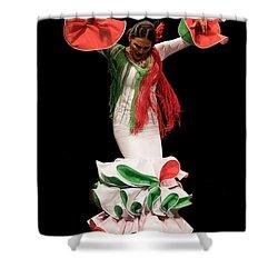 Duende Flamenco Shower Curtain