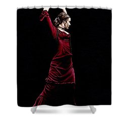 Duende Shower Curtain by Richard Young