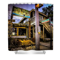 Duffy Street Seafood Shack Shower Curtain