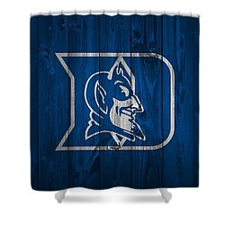 Duke Blue Devils Barn Door Shower Curtain