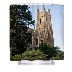 Duke Chapel Side View Shower Curtain