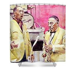 Duke Ellington And Johnny Hodges Shower Curtain