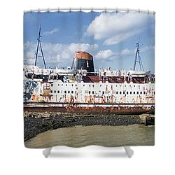 Duke Of Lancaster 3 Pano Shower Curtain by Steev Stamford